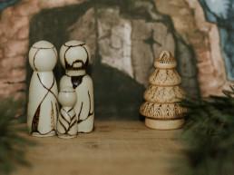 Szopka Bożonarodzeniowa (5 elementów)