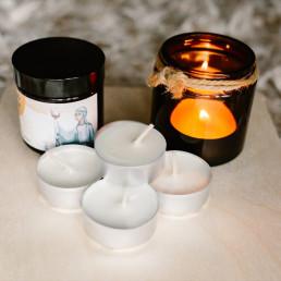 Zestaw sojowych tealightów zapachowych