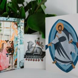 Zestaw kartek Wielkanocnych