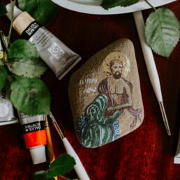 Ikona na kamieniu - Jonasz