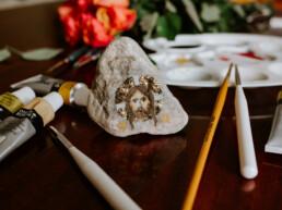 Ikona na kamieniu - Mandylion